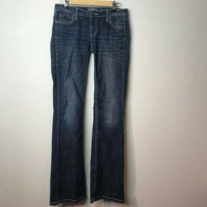 Wrangler Women's Rock Ultra Low Rise Boot Cut Jean